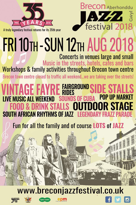 Brecon Jazz Music Festival 2018